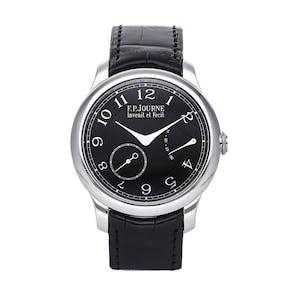 """Pre-Owned F.P. Journe Chronometre Souverain """"Black Label""""  CS PT 40 BLACK"""