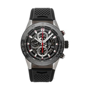 Pre-Owned Tag Heuer Carrera Chronograph CAR2A1Z.FT6044