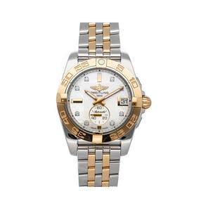 Pre-Owned Breitling Galactic C37330121A2C1