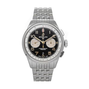 Pre-Owned Breitling Premier B01 Chronograph Norton Edition AB0118A21B1A1