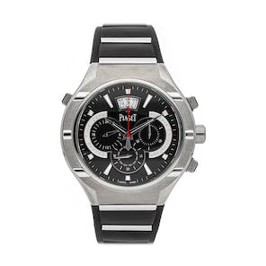 Pre-Owned Piaget Polo FortyFive Flyback Chronograph GMT G0A34002