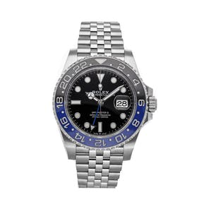 "Pre-Owned Rolex GMT-Master II ""Batman"" 126710BLNR"
