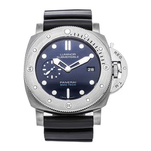 Pre-Owned Panerai Luminor Submersible 1950 BMG-Tech PAM 692