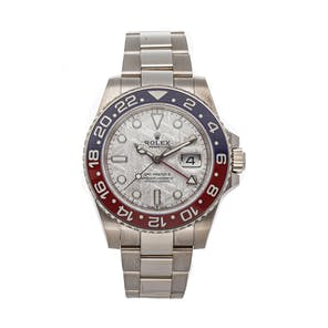 "Pre-Owned Rolex GMT-Master II ""Pepsi"" 126719BLRO"