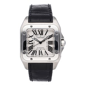 Pre-Owned Cartier Santos 100 Large Model W20076X8
