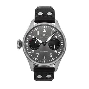 "Pre-Owned IWC Big Piot's ""Right Hander"" Limited Edition IW5010-12"