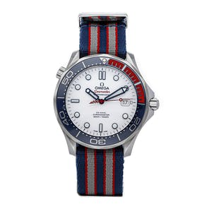 Pre-Owned Omega Seamaster Diver 300m Commander's Watch Limited Edition 212.32.41.20.04.001