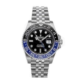 "Pre-Owned Rolex GMT-Master II ""Batman"" 126710BLNR"