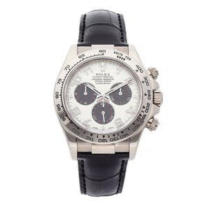 Pre-Owned Rolex Cosmograph Daytona 116519 WHT BLK DB