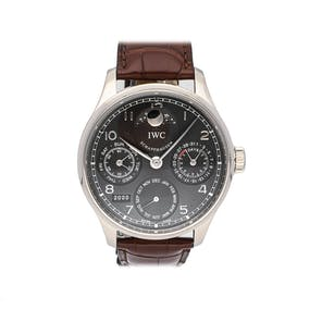 Pre-Owned IWC Portuguese Perpetual Calendar Moon Phase  IW5023-03