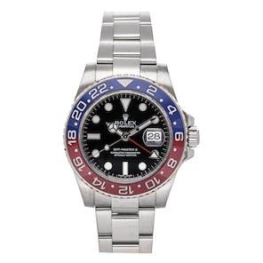 "Pre-Owned Rolex GMT-Master II ""Pepsi"" 116719BLRO"