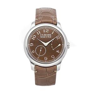 Pre-Owned F.P. Journe Classique Chronometre Souverain CSH PT 40 A BR