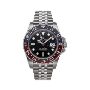"Pre-Owned Rolex GMT-Master II ""Pepsi"" 126710BLRO"
