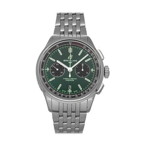 Pre-Owned Breitling Premier B01 Chronograph Bentley AB0118A11L1A1