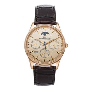 Pre-Owned Jaeger-LeCoultre Master Ultra Thin Perpetual Q1302520
