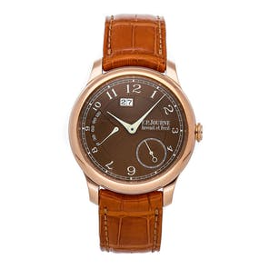 """Pre-Owned F.P. Journe Octa Automatique Reserve """"Havana"""" O-ARH G 40 A BR"""