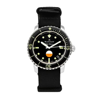 Pre-Owned Blancpain Fifty Fathoms Automatique 5008-1130-NABA