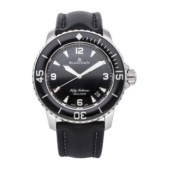 Pre-Owned Blancpain Fifty Fathoms 5015-1130-52B