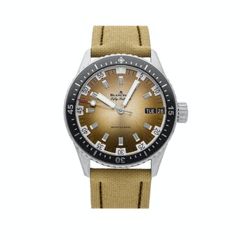 Pre-Owned Blancpain Fifty Fathoms Bathyscaphe Day Date Desert Edition 5052-1146-E52A
