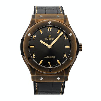 Pre-Owned Hublot Classic Fusion Anticlockwise Dubai Limited Edition 513.BZ.7080.LR.SDQ19