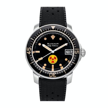 Pre-Owned Blancpain Fifty Fathoms No Rad Limited Edition 5008D-1130-B64A